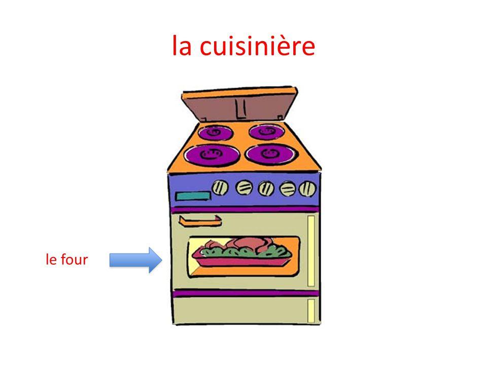 la cuisinière le four
