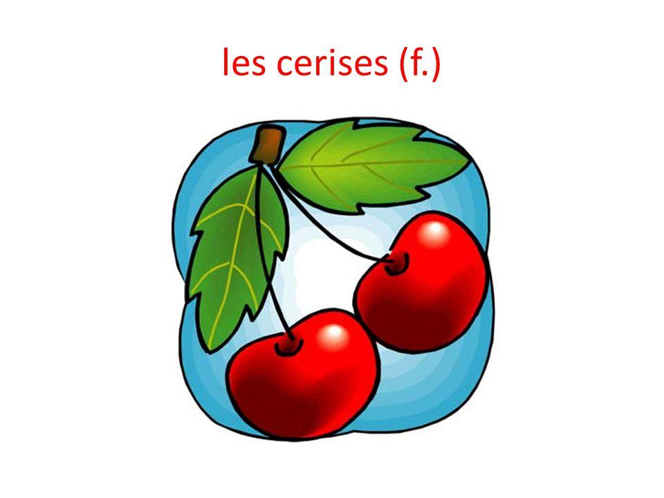les cerises (f.)