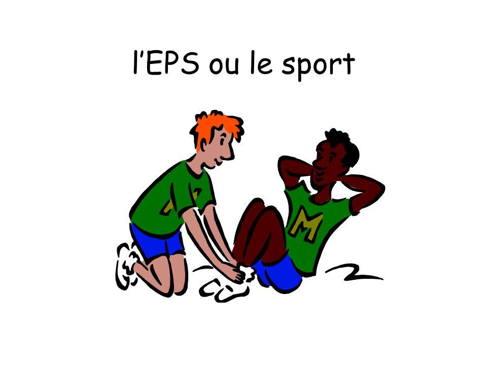 lEPS ou le sport