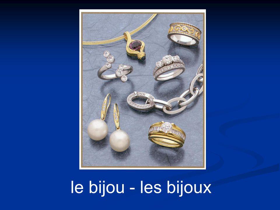 le bijou - les bijoux