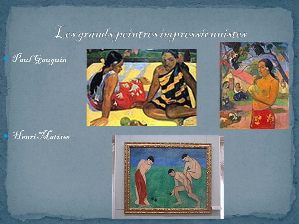 Paul Gauguin Henri Matisse