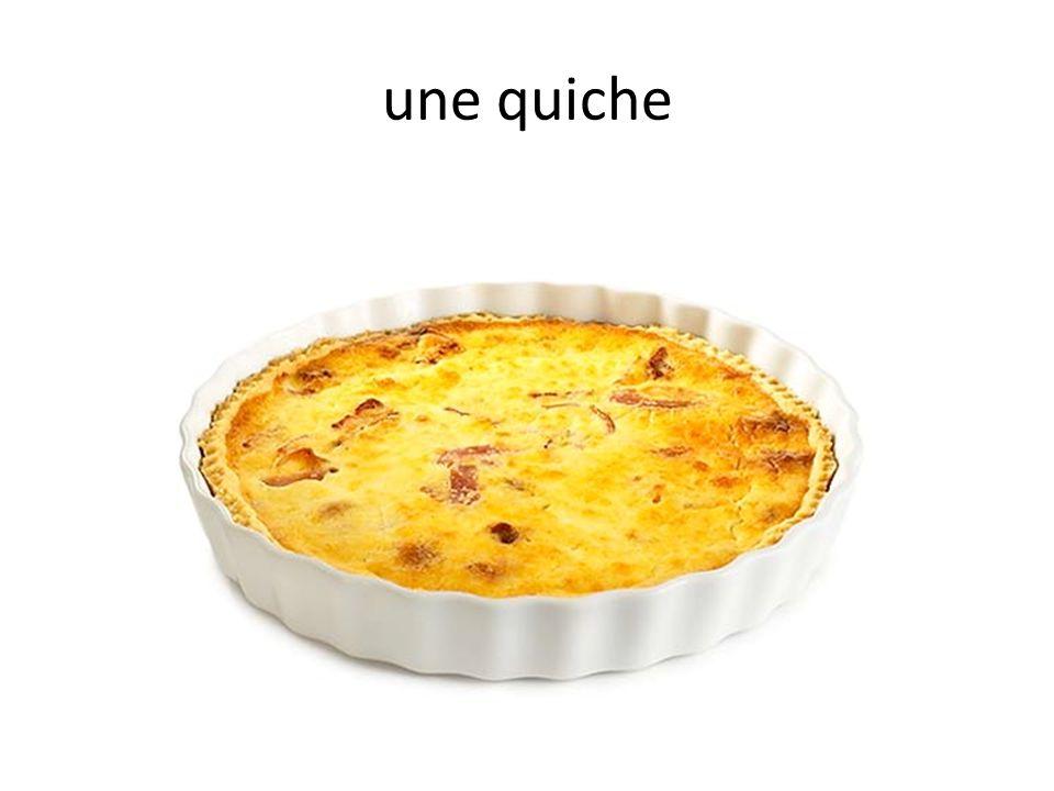 une quiche