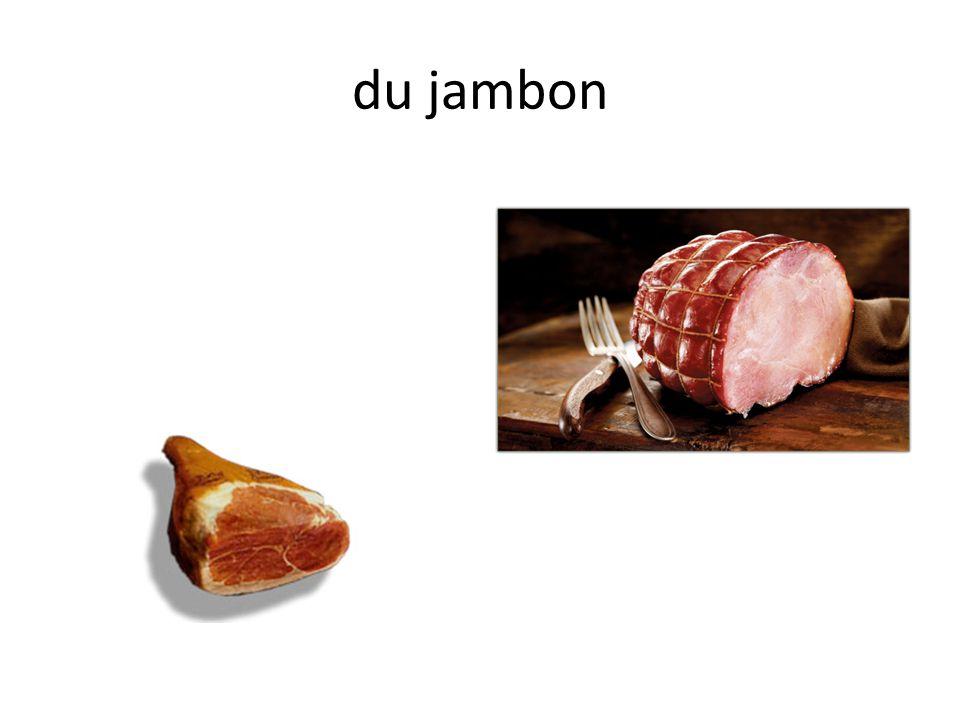 Un sandwich au jambon Trois sandwichs au jambon