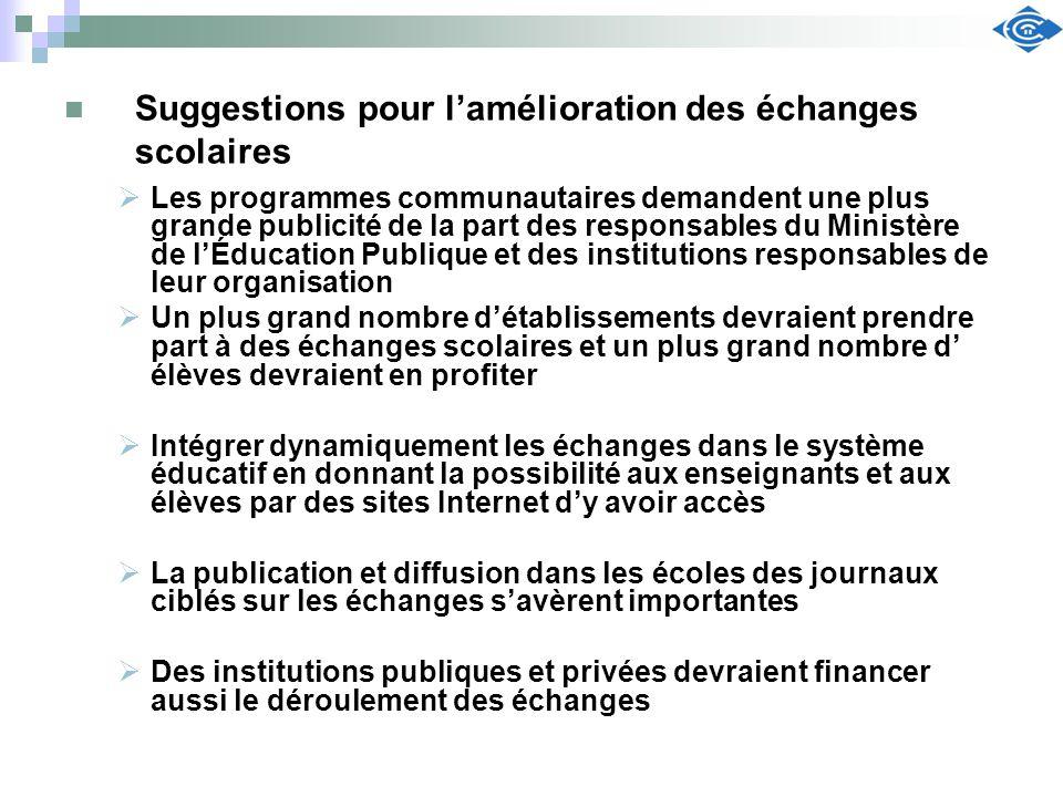 Les programmes communautaires demandent une plus grande publicité de la part des responsables du Ministère de lÉducation Publique et des institutions