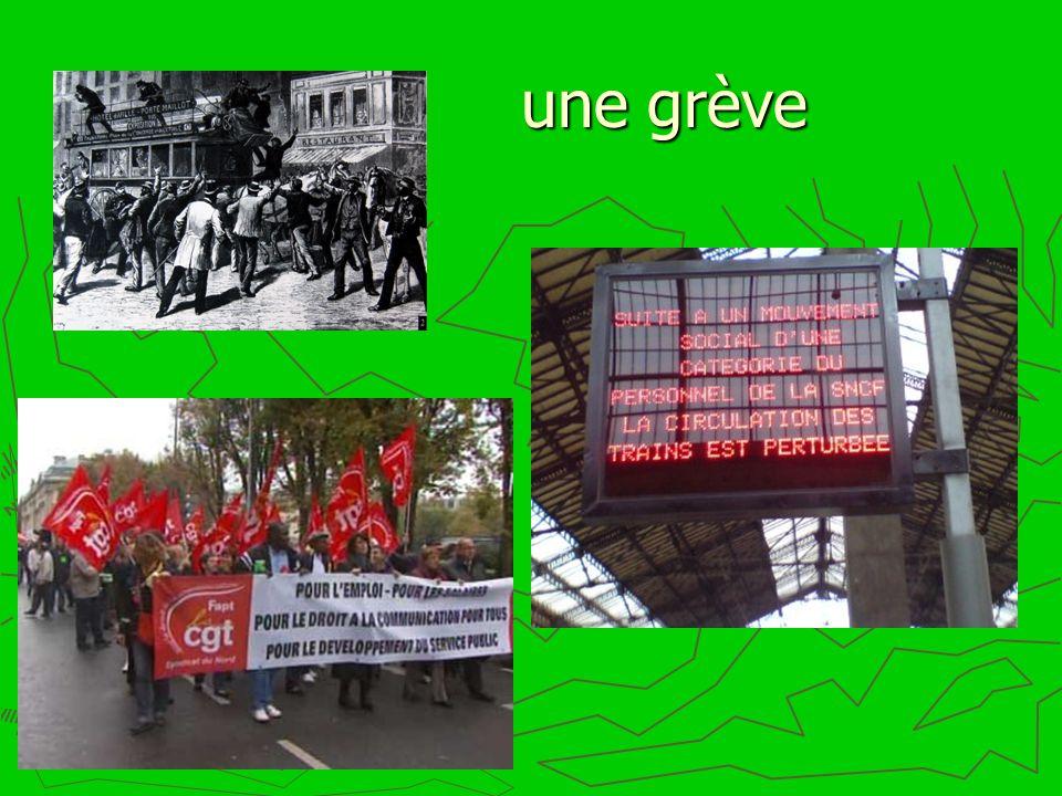 une grève