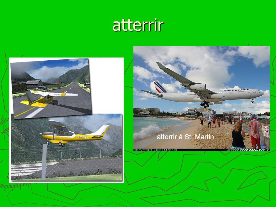 atterrir atterrir à St. Martin