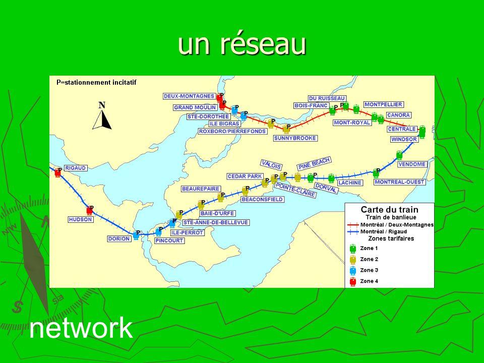 un réseau network
