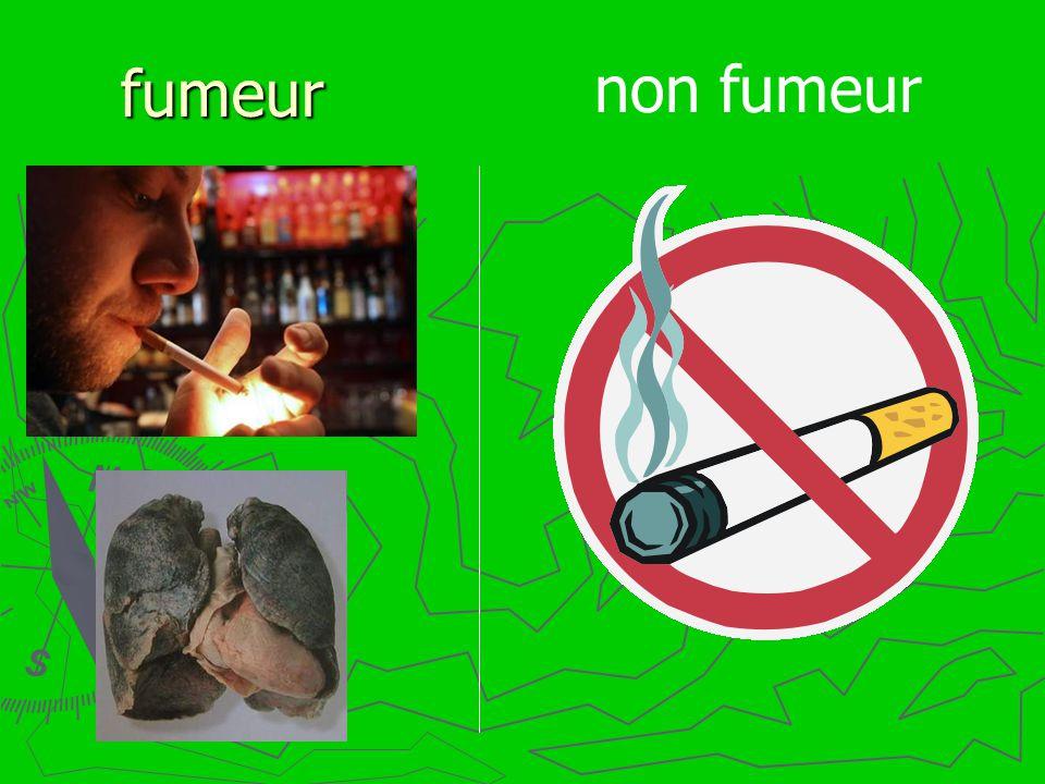 fumeur non fumeur