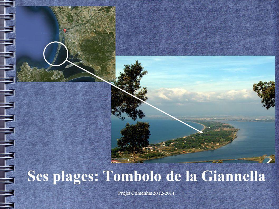 Projet Comenius 2012-2014 Ses plages: Tombolo de la Giannella