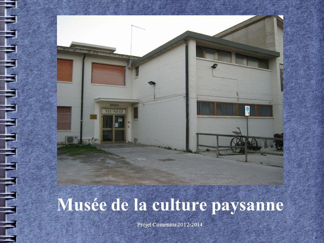 Projet Comenius 2012-2014 Musée de la culture paysanne