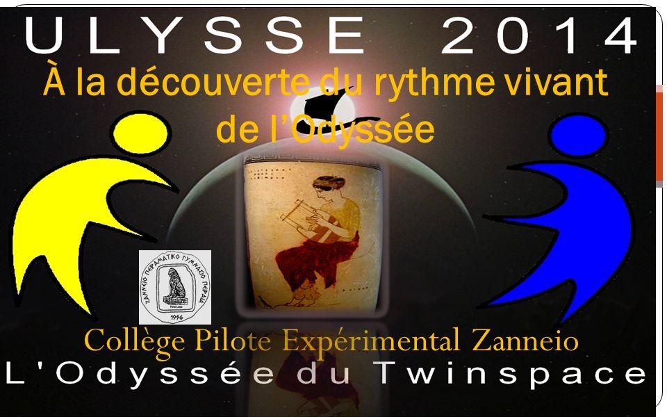 Collège Pilote Expérimental Zanneio À la découverte du rythme vivant de lOdyssée