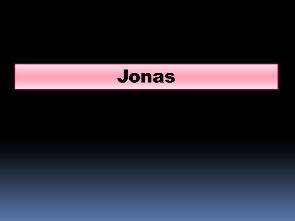 …Puis ils prirent Jonas, et le jetèrent dans la mer.