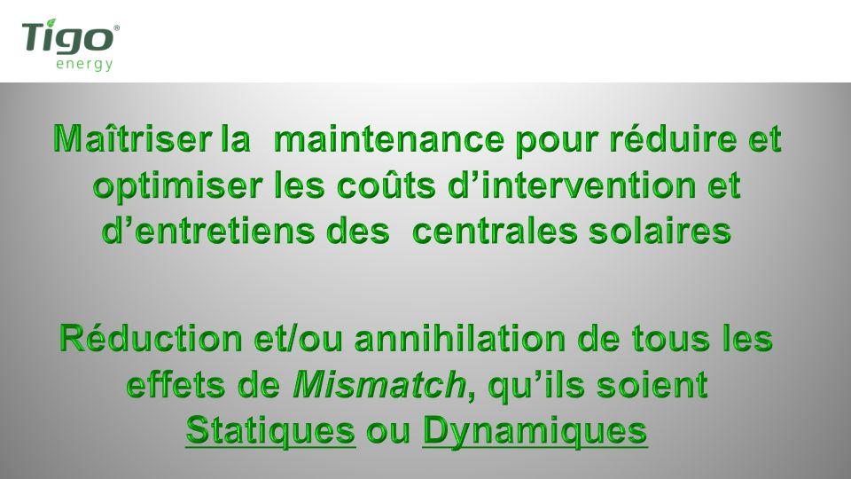 Les Installations Tigo Energy® Maximizer Actives Monde: 3 735 (Nov 2011) Total: 29,9 Mw.
