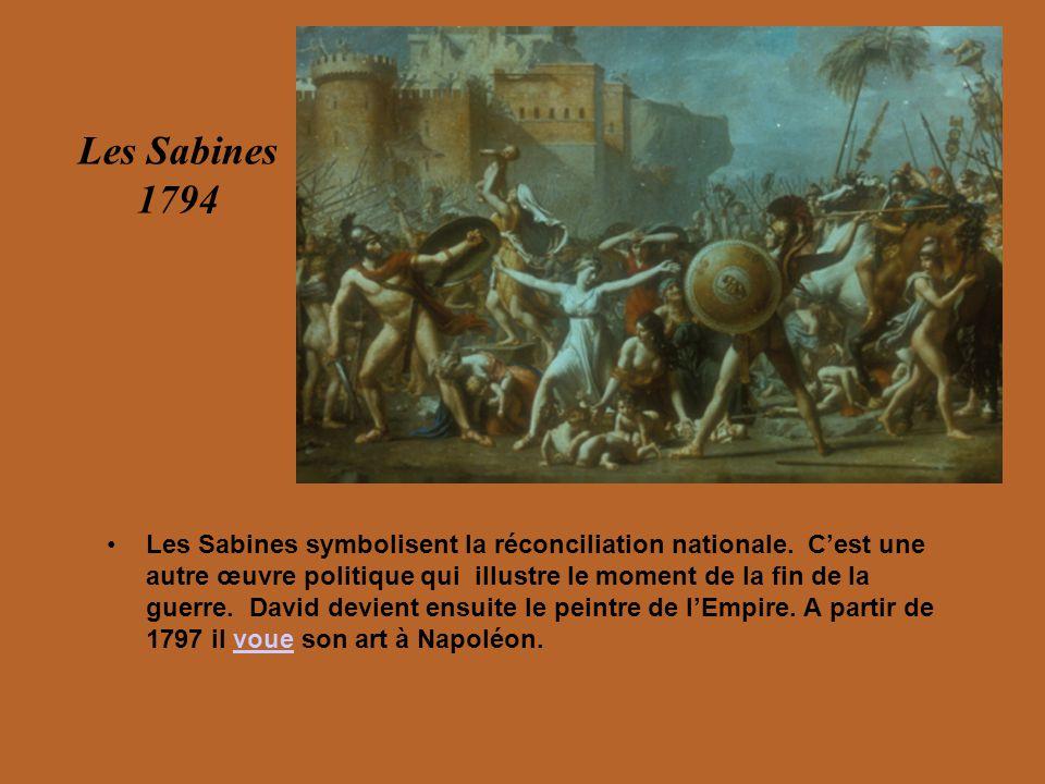 David – Les tableaux de Napoléon
