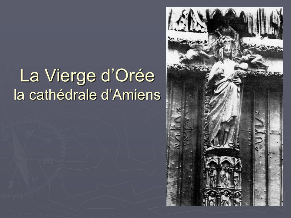 La Vierge dOrée la cathédrale dAmiens