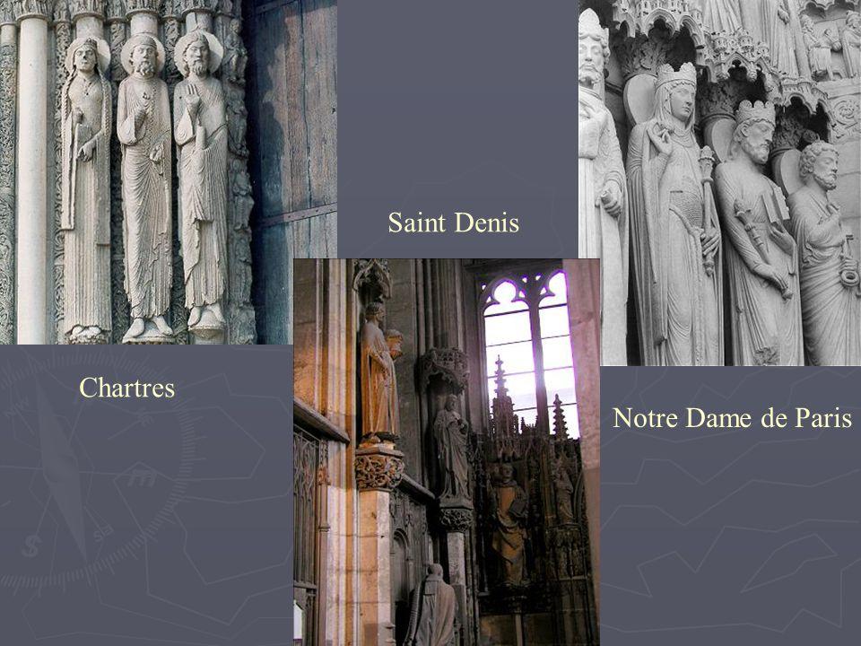 Chartres Notre Dame de Paris Saint Denis
