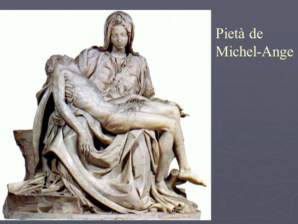 Pietà de Michel-Ange
