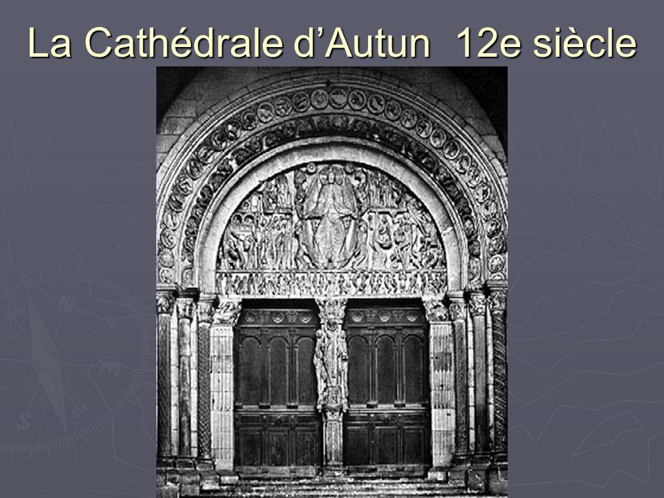 La Cathédrale dAutun 12e siècle