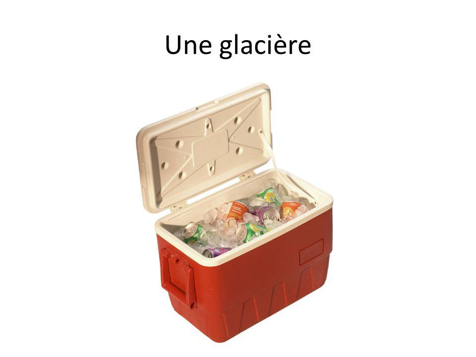 Une glacière