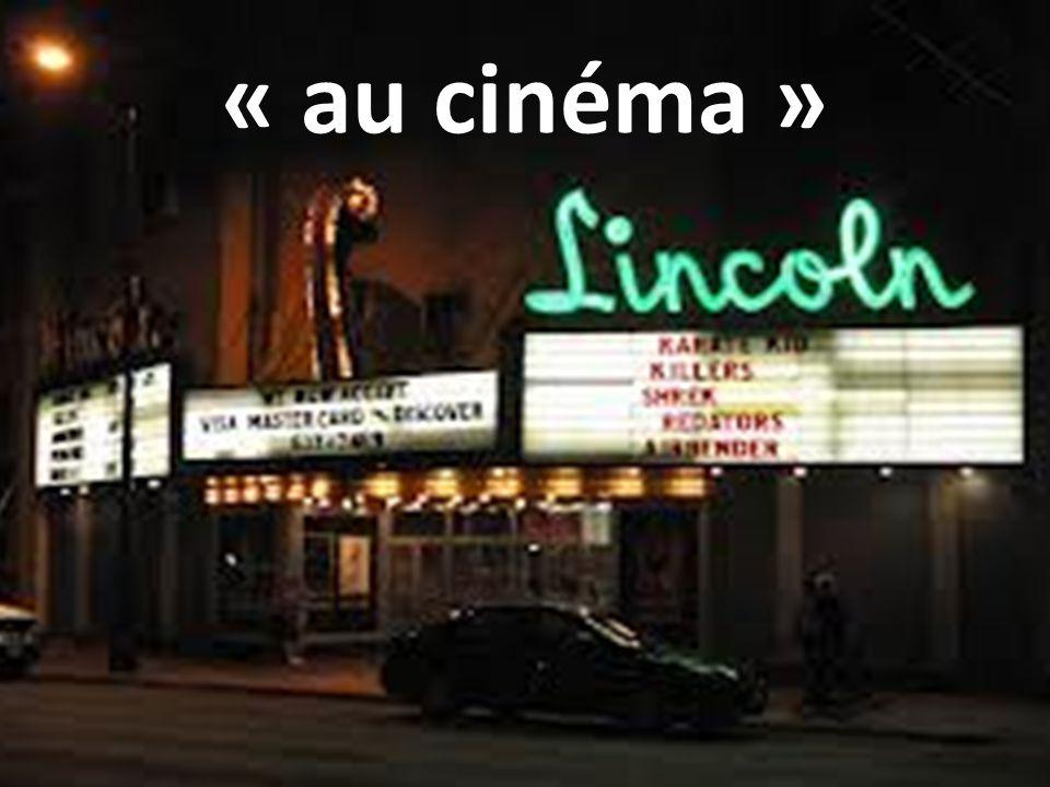« au cinéma »