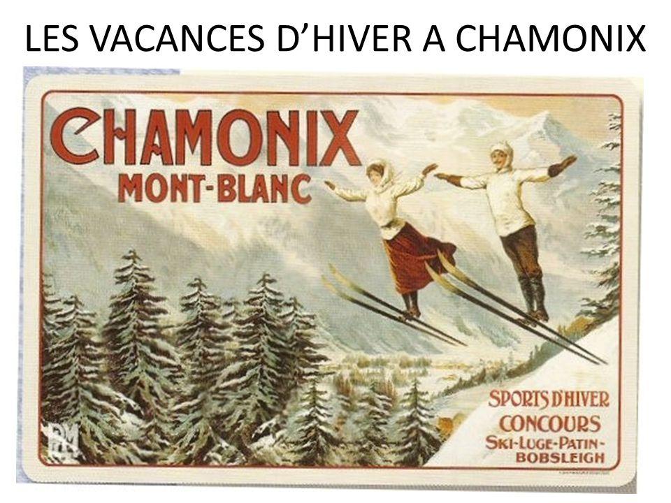 LES VACANCES DHIVER A CHAMONIX