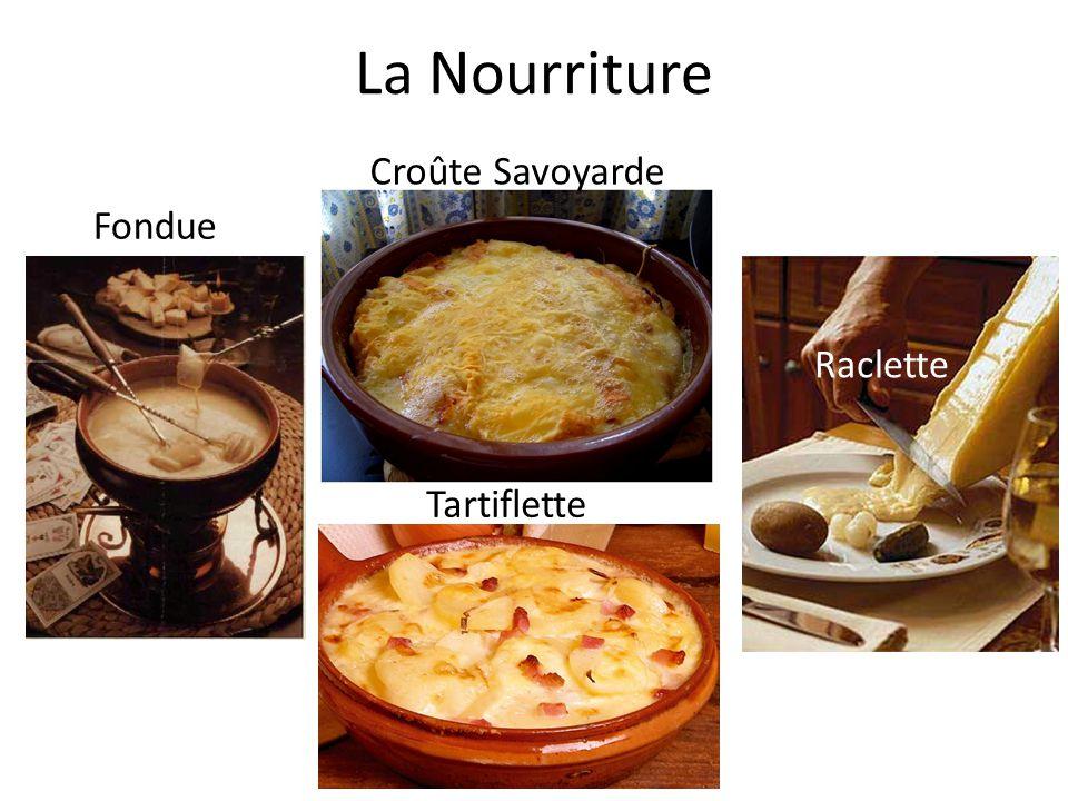 La Nourriture Fondue Raclette Croûte Savoyarde Tartiflette