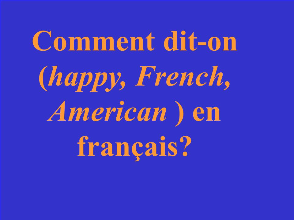 Vrai ou faux? French education is regulated by the Ministry of Education of Paris.