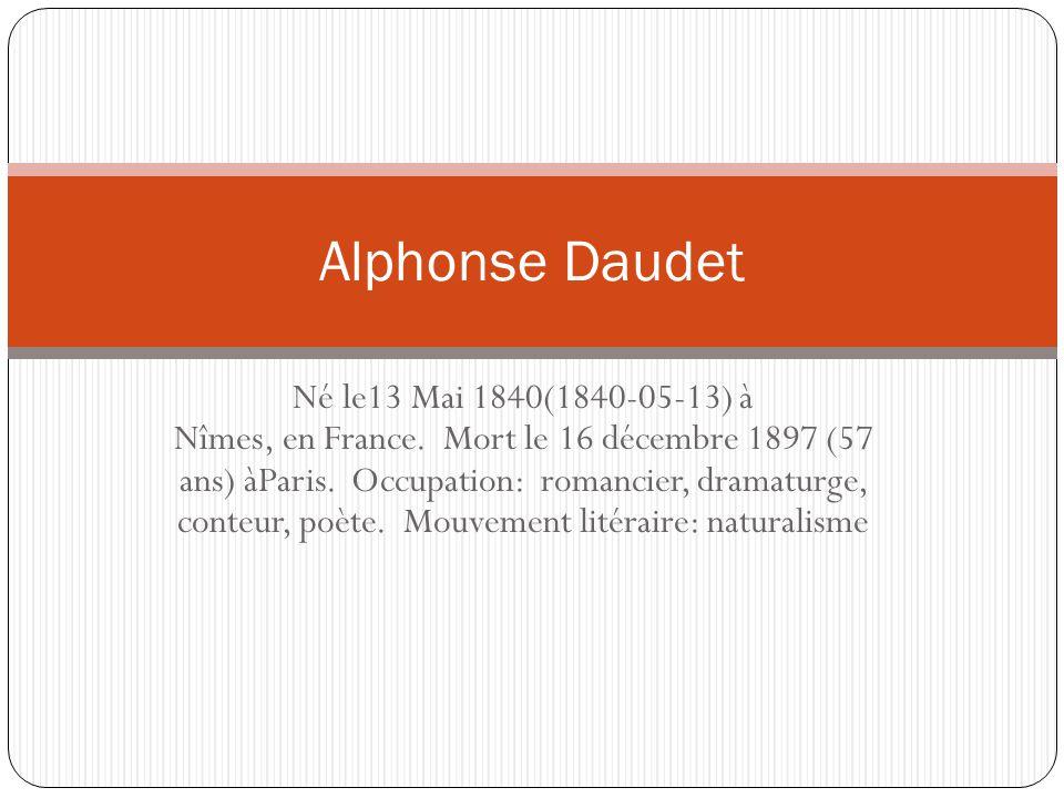 Né le13 Mai 1840(1840-05-13) à Nîmes, en France. Mort le 16 décembre 1897 (57 ans) àParis.