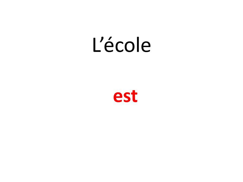 Lécole est