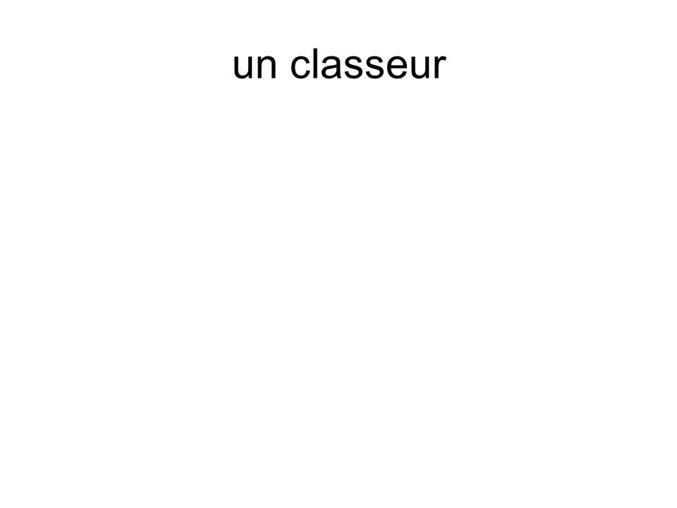 un classeur