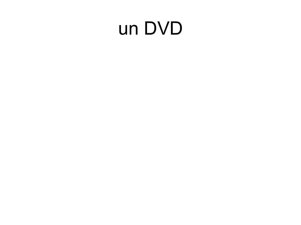 un DVD