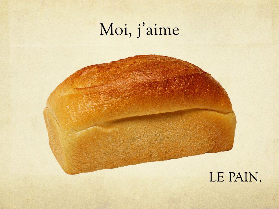 Moi, jaime LE PAIN.