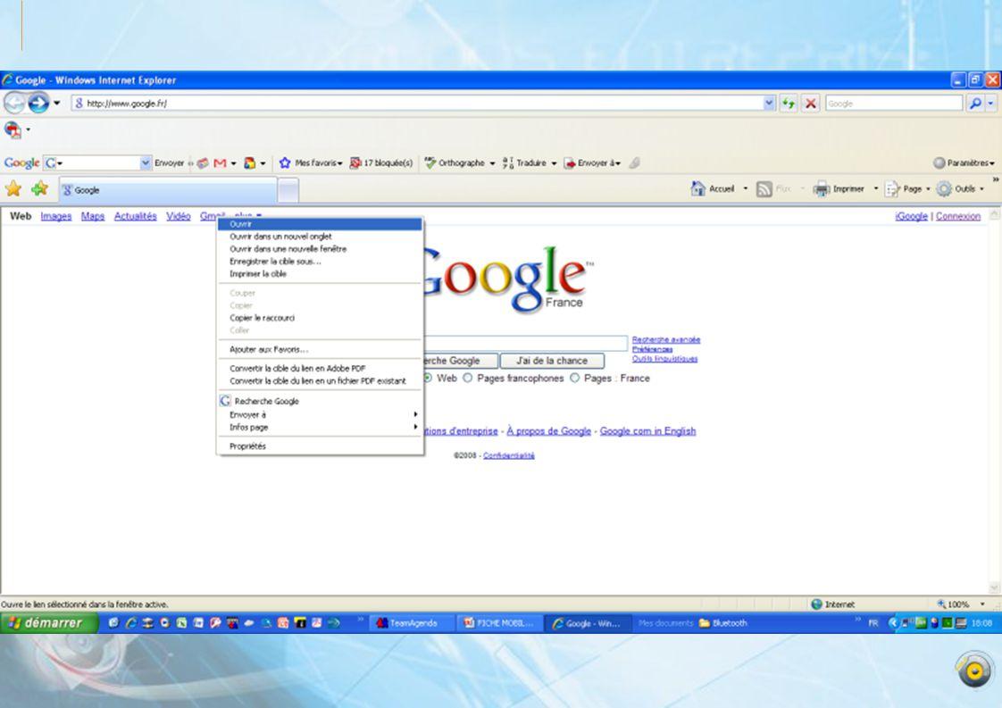 Sélectionnez: à propos de Gmail