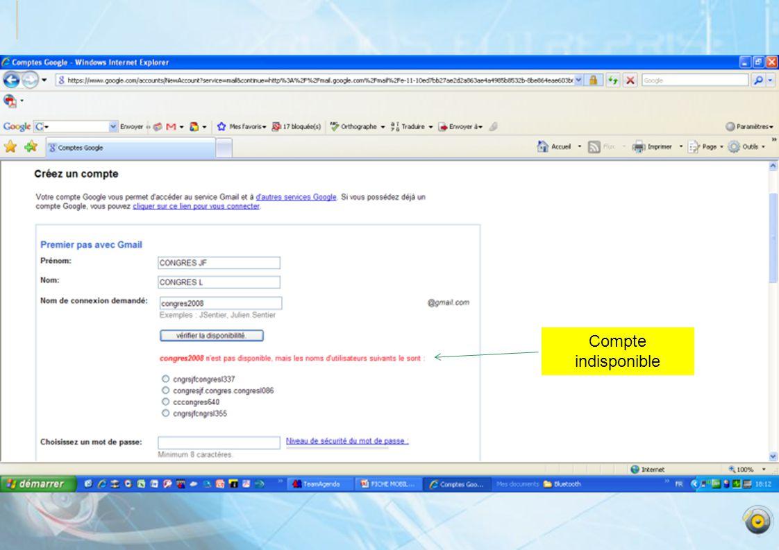 Sélection du fichier Cliquez sur: Upload pour télécharger