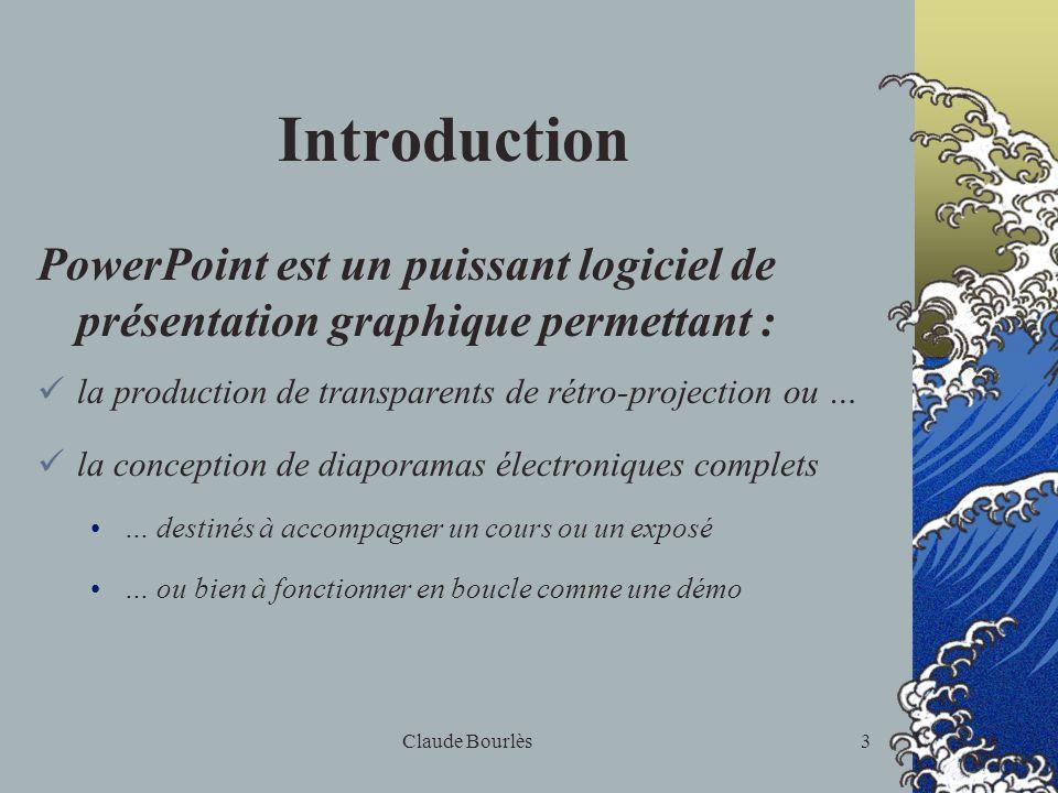 2 Emploi dun logiciel de présentation graphique : PowerPoint