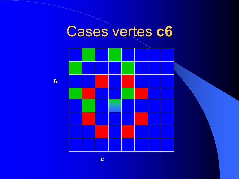 Cases vertes c6 c 6