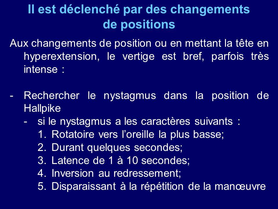 Par exemple : 1)Le syndrome latéro-médulaire dit syndrome de Wallenberg.