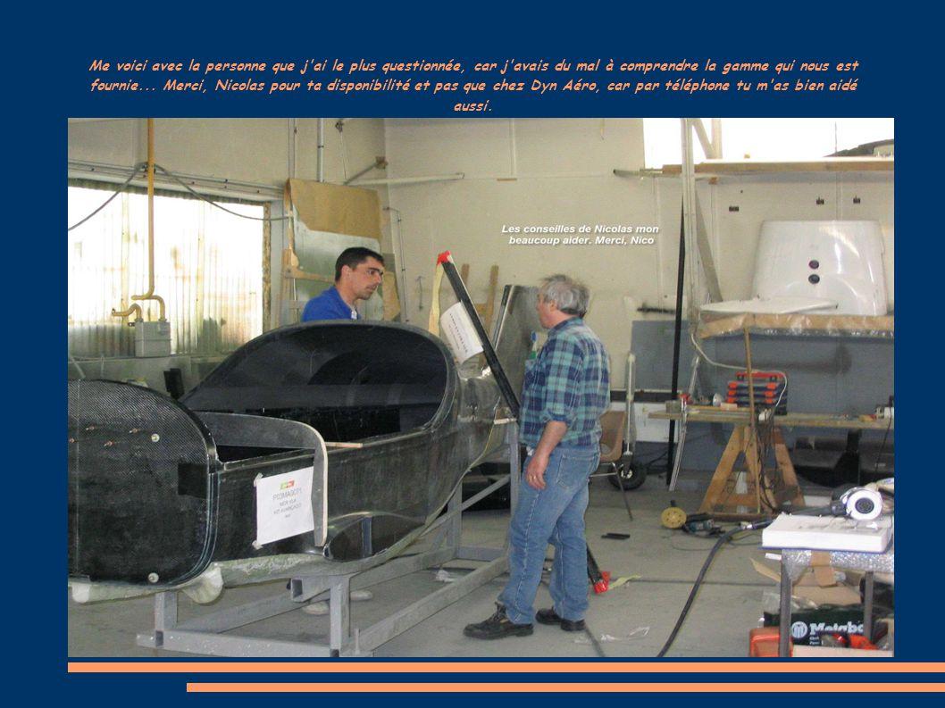 Tableau de bord en alu dont les plans de découpe ont été réalisés par le chef d atelier mécanique M.