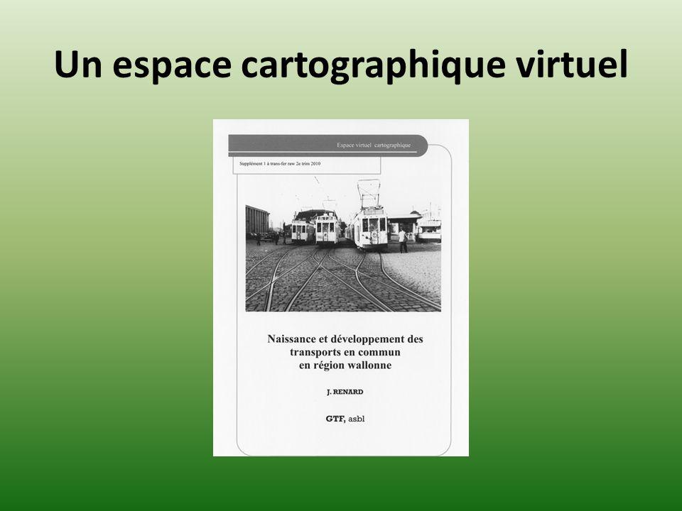 Un espace cartographique virtuel