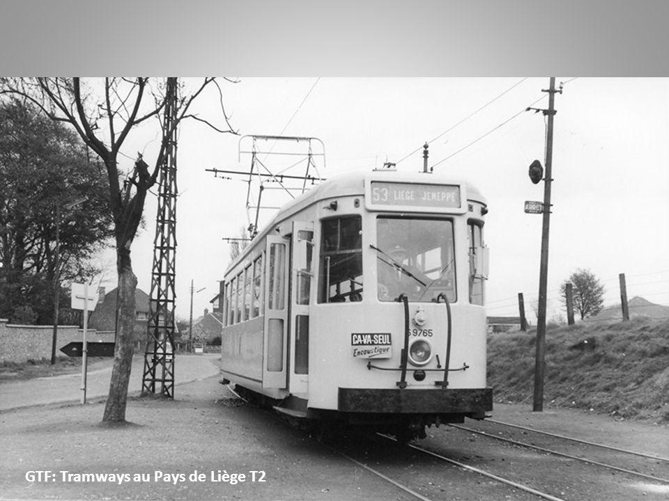 Liège – Tongeren: De la place St-Lambert, les tramways électriques empruntent : -la rue de Bruxelles -la rue de Campine -la rue Ste-Walburge -la chaussée de Tongres -la route N15.