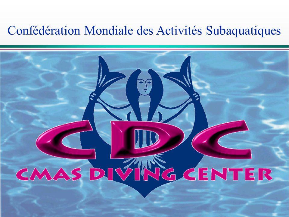 CDC Confédération Mondiale des Activités Subaquatiques