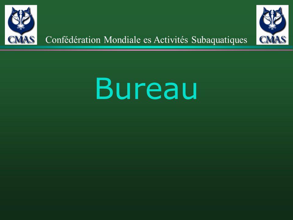 Bureau Confédération Mondiale es Activités Subaquatiques