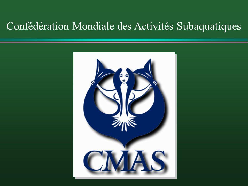 Intro Confédération Mondiale des Activités Subaquatiques