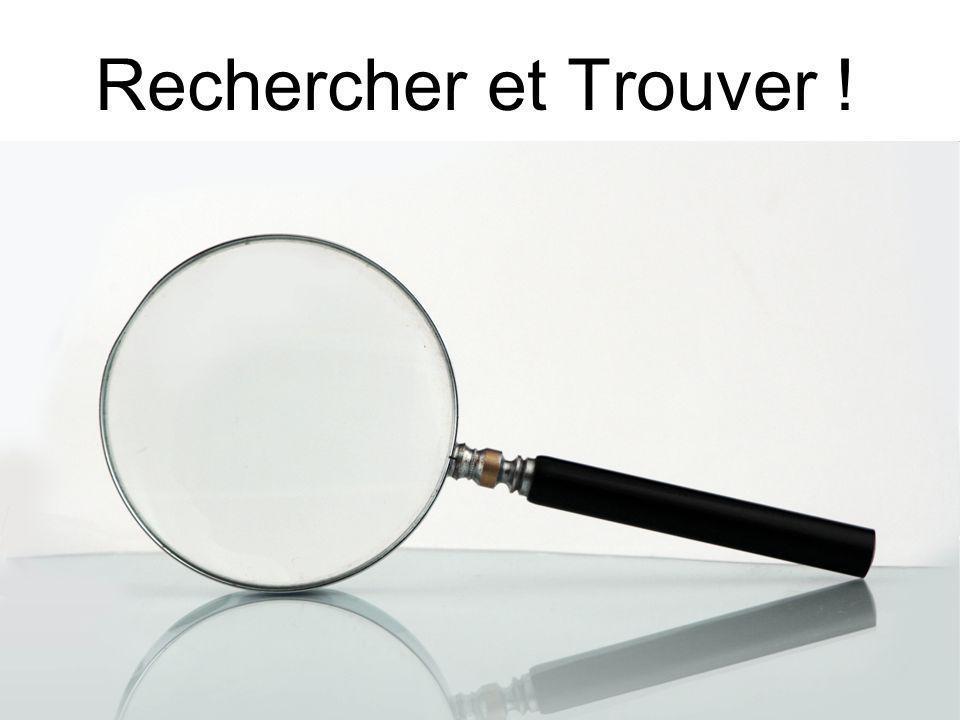 Mediadix - 26 juin 2009 Rechercher et Trouver !