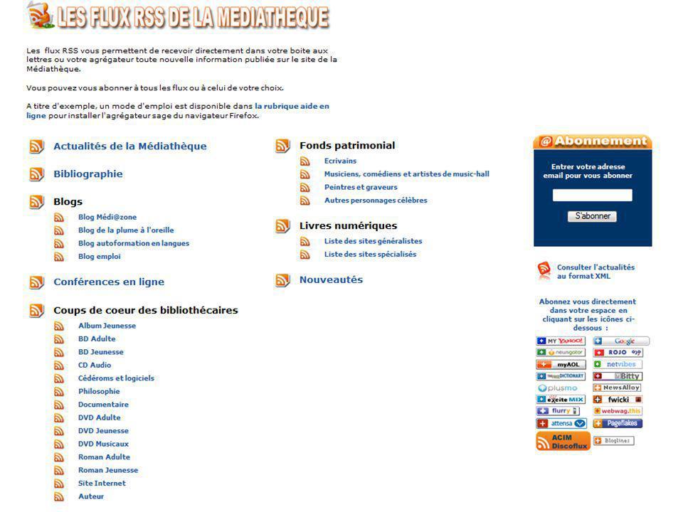 Mediadix - 26 juin 2009 www.dole.org/mediatheque/ Archimed www.bm-saintraphael.fr