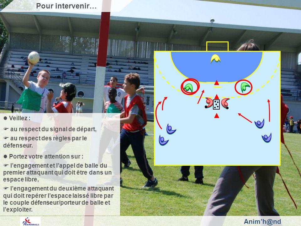 Animh@nd Veillez : au respect du signal de départ, au respect des règles par le défenseur.