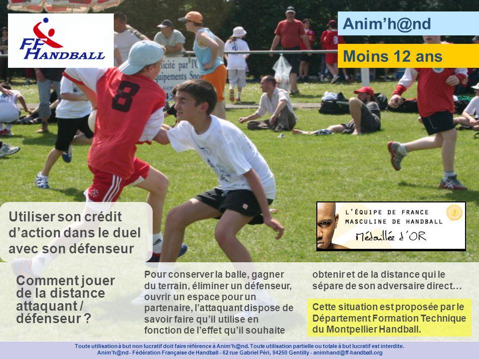 Animh@nd Moins 12 ans Toute utilisation à but non lucratif doit faire référence à Animh@nd.