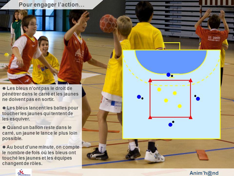 Animh@nd Les bleus nont pas le droit de pénétrer dans le carré et les jaunes ne doivent pas en sortir.