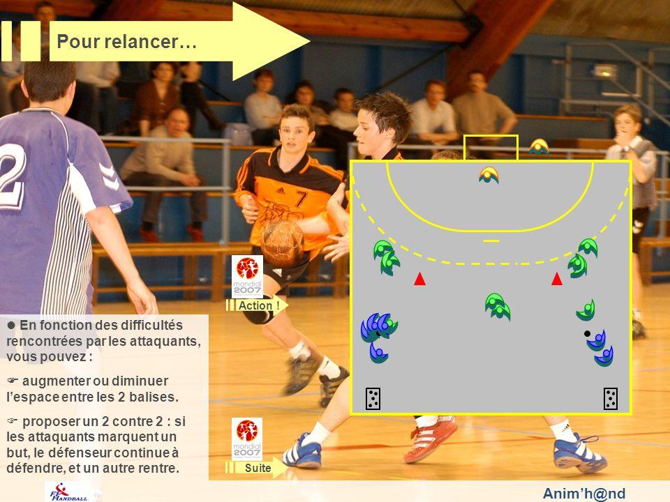 Animh@nd En fonction des difficultés rencontrées par les attaquants, vous pouvez : augmenter ou diminuer lespace entre les 2 balises.