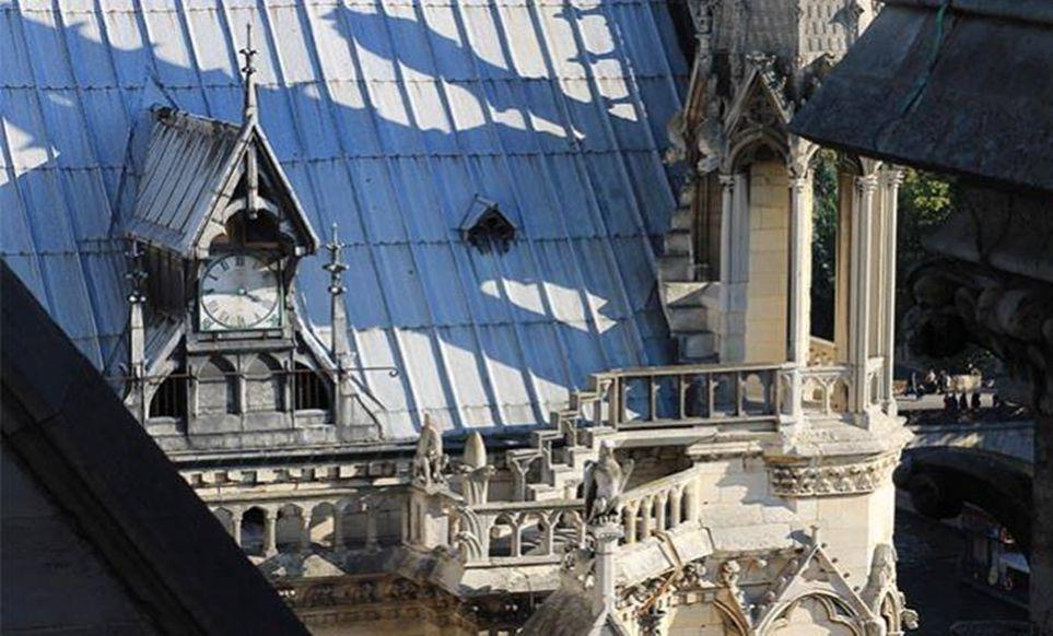 Mandarin Oriental Paris - Toit terrasse